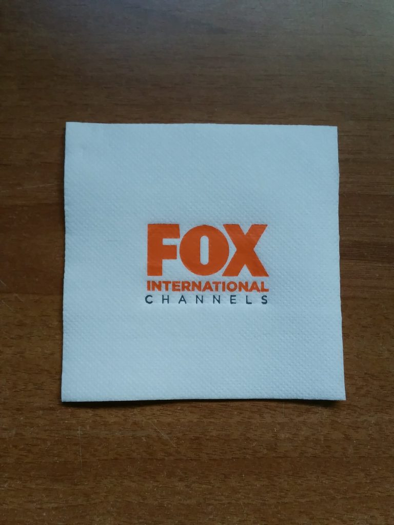 Servilleta Personalizada FOX