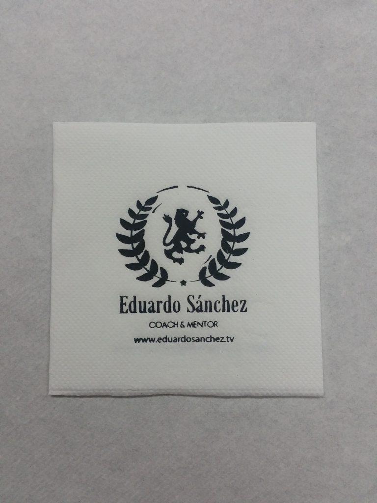 Servilleta Personalizada Eduardo Sánchez