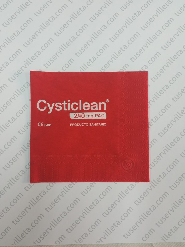 Servilleta Personalizada Cysticlean