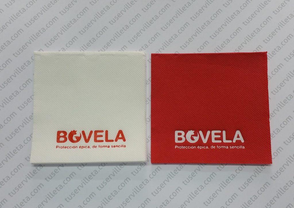 Servilletas con impresión Bovela