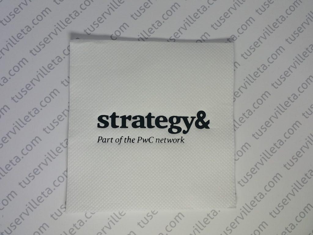Servilletas Impresas Strategy&