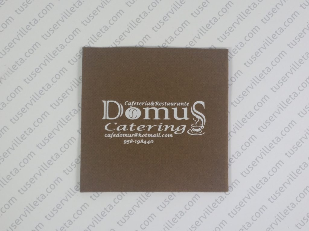 Servilletas Impresas Domus