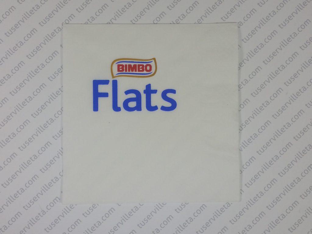 Servilletas Impresas Bimbo Flats