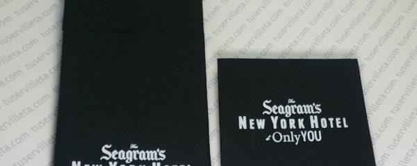Servilletas Impresas Seagram's
