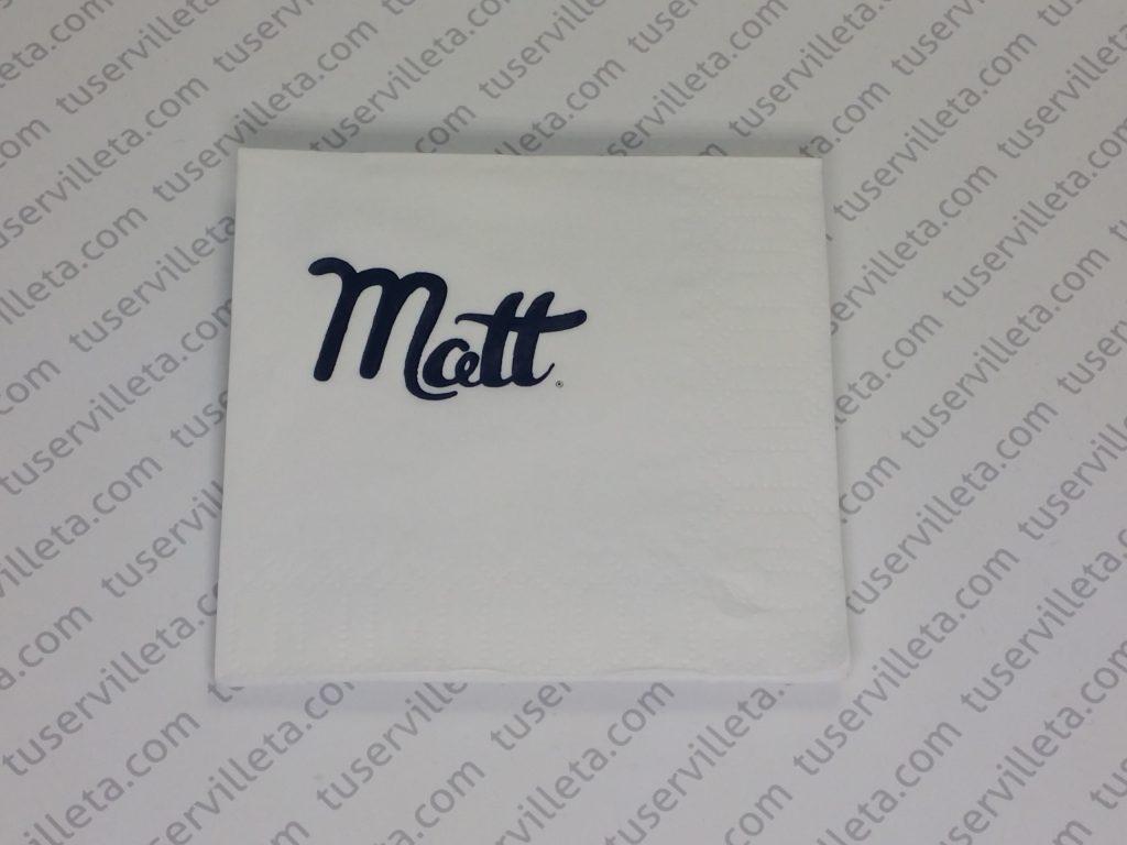 Servilletas Impresas Matt