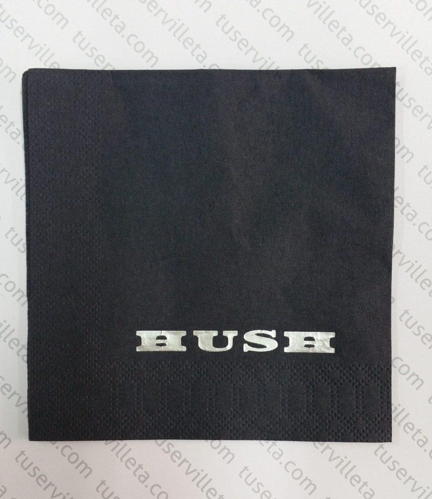 Servilleta Personalizada HUSH