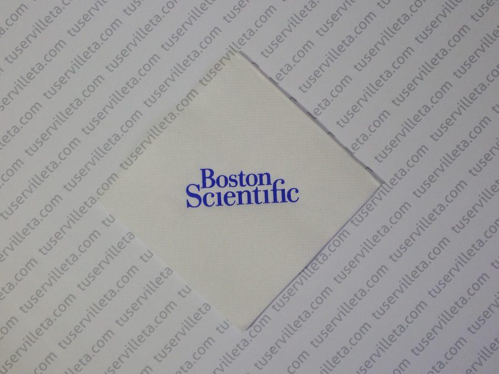 Servilletas Impresas Boston Scientific