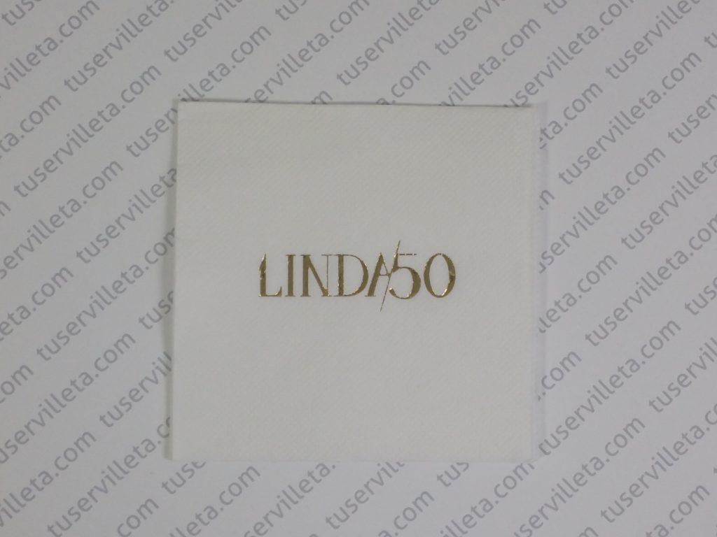 Servilletas Impresas Linda50
