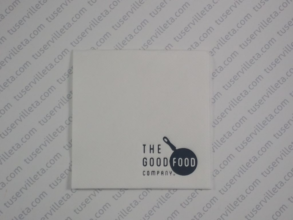 Servilletas Impresas The Good Food