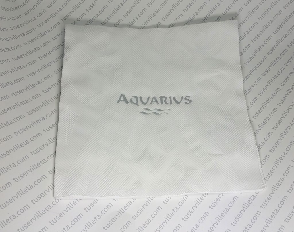 Servilletas Impresas Aquarius