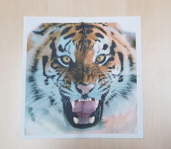 Servilletas Impresas Tigre