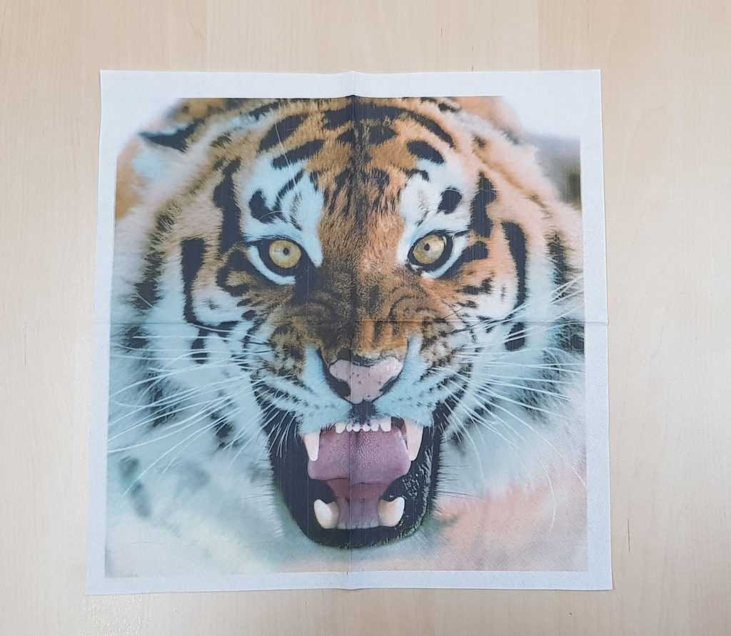 Servilletas Personalizadas Tigre