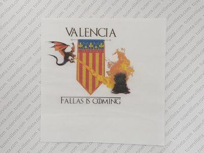 Servilletas Impresas Valencia Fallas is Coming
